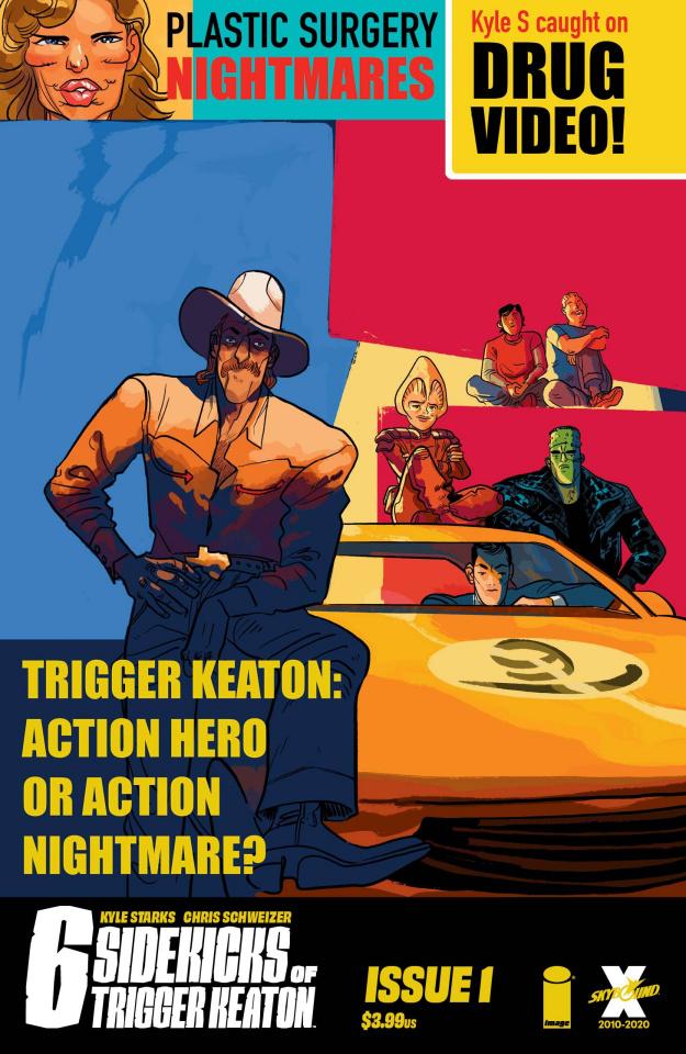 Six Sidekicks of Trigger Keaton #1 (Henderson Cover)