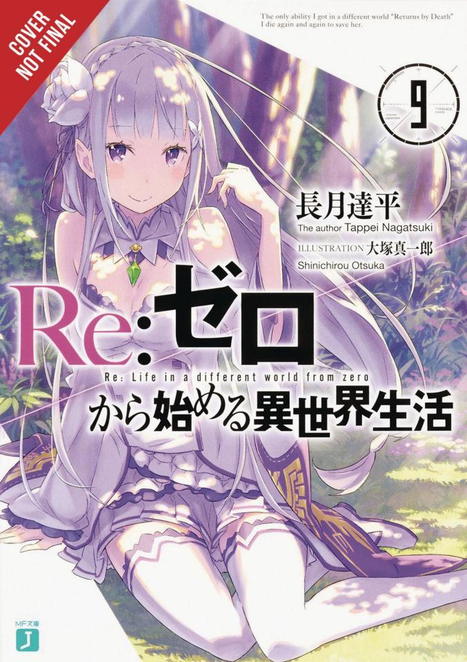 Re:Zero Sliaw Light Vol. 9