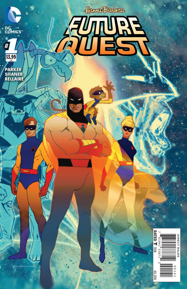 Future Quest #1 (Space Ghost Cover)