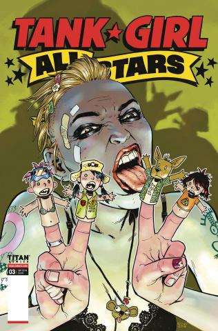 Tank Girl All Stars #3 (Bond Cover)