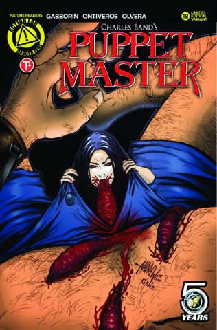 Puppet Master #18 (Mangum Kill Cover)