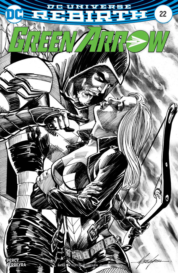 Green Arrow #22 (Variant Cover)