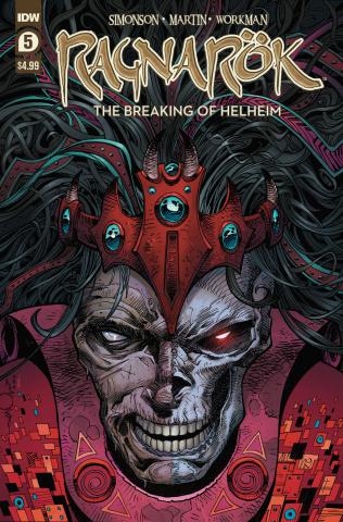 Ragnarök: The Breaking of Helheim #5 (Simonson Cover)