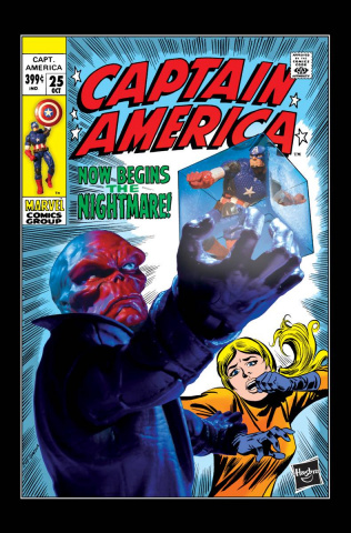 Captain America #25 (Hasbro Cover)