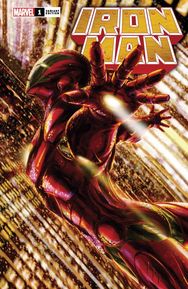 Iron Man #1 (Tenjin Cover)