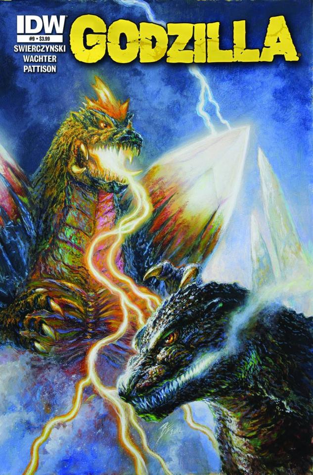 Godzilla #9 (Frank Cover)