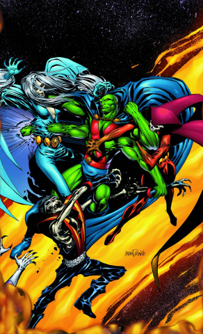Martian Manhunter: The Rings of Saturn