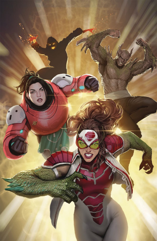 Catalyst Prime: Seven Days #5 (Sejic Virgin Cover)