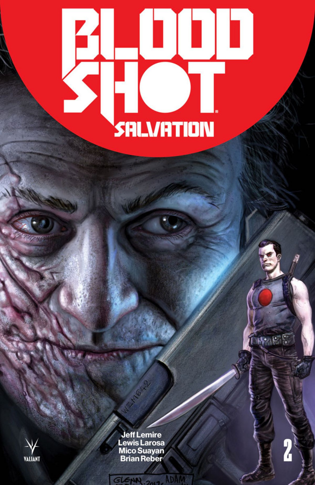 Bloodshot: Salvation #2 (50 Copy Icon Fabry Cover)