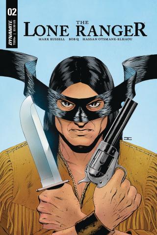 The Lone Ranger #2 (Cassaday Cover)