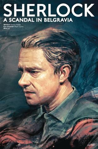 Sherlock: A Scandal in Belgravia #1 (Zhang Watson Cover)