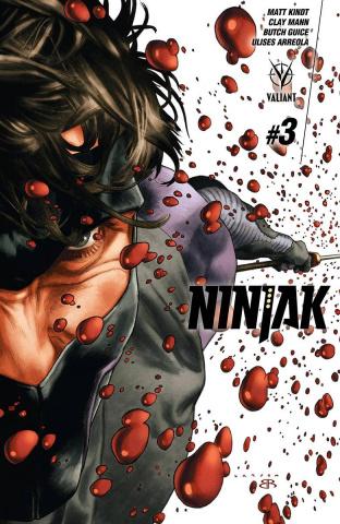 Ninjak #3 (Larosa Cover)