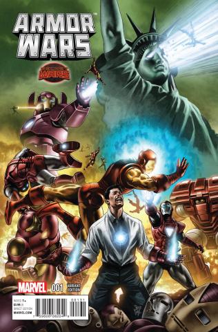 Armor Wars #1 (Pugh Cover)