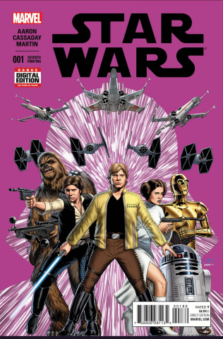 Star Wars #1 (Cassaday 7th Printing)