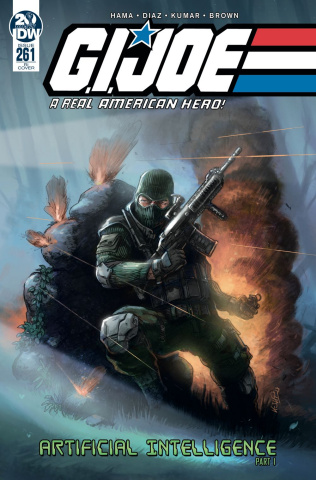 G.I. Joe: A Real American Hero #261 (10 Copy Scherwinski Cover)