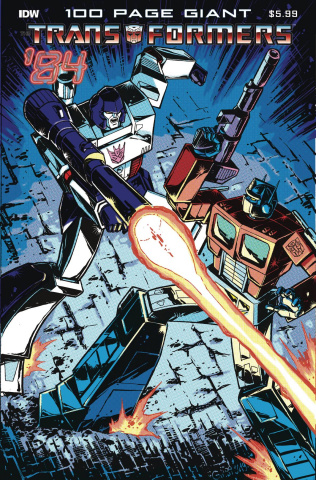 The Transformers '84 Legends & Rumors 100-Page Giant Special