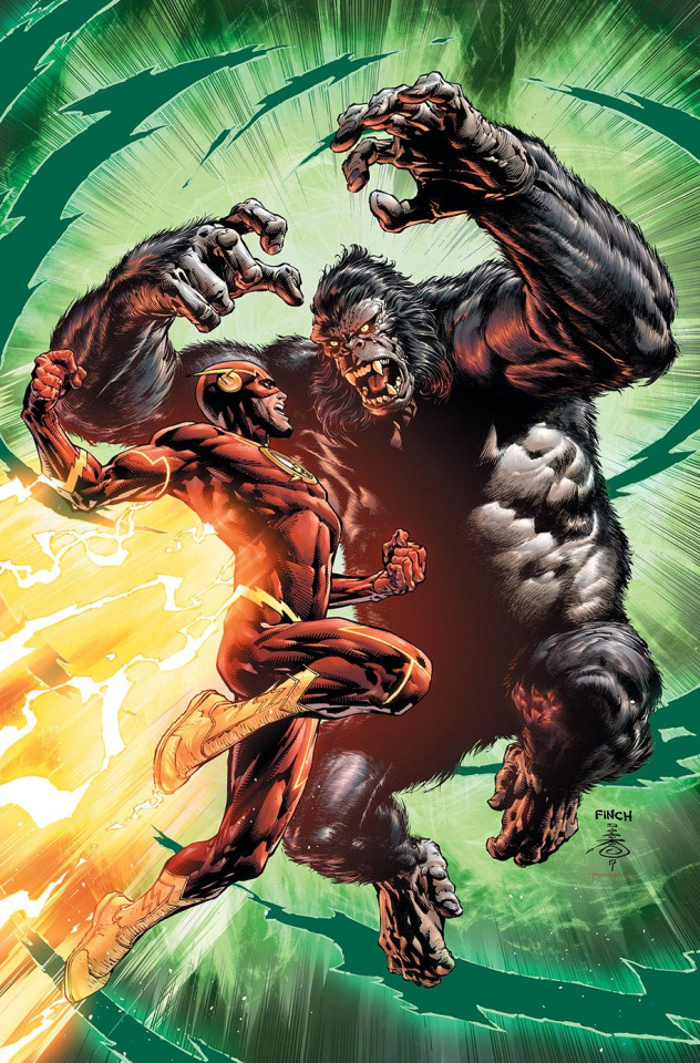 The Flash #43 (Variant Cover)