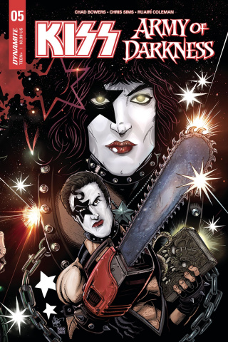 KISS / Army of Darkness #5 (Haeser Starchild Cover)