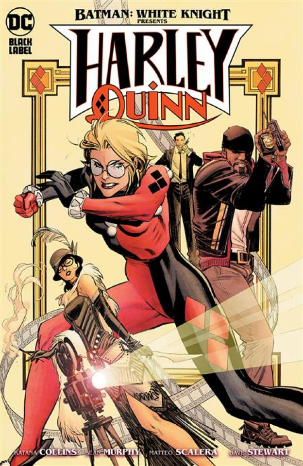 Batman: White Knight Presents Harley Quinn #4 (Sean Murphy Cover)
