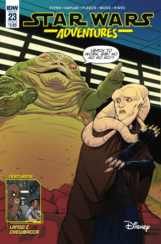 Star Wars Adventures #23 (Moss Cover)