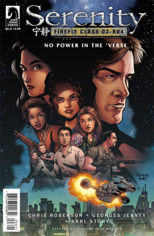 Serenity: No Power in the 'Verse #6 (Jeanty Cover)