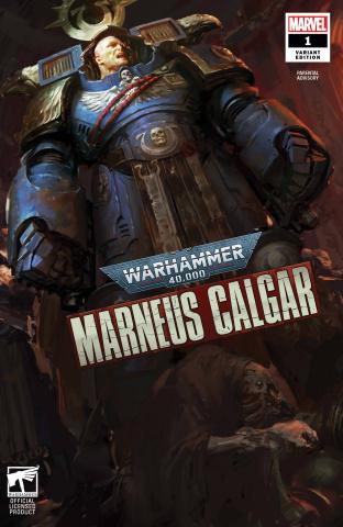 Warhammer 40,000: Marneus Calgar #1 (Games Workshop Cover)