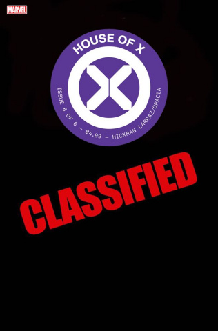 House of X #6 (Camuncoli Foreshadow Cover)