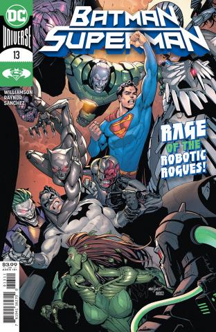 Batman / Superman #13 (David Marquez Cover)