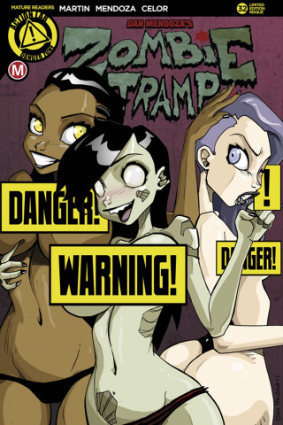 Zombie Tramp #32 (Panty Party Risque Cover)