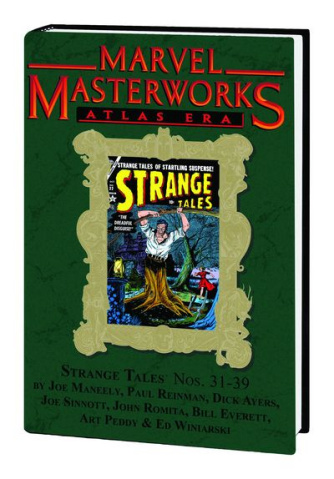 Atlas Era Strange Tales Vol. 4 (Marvel Masterworks)