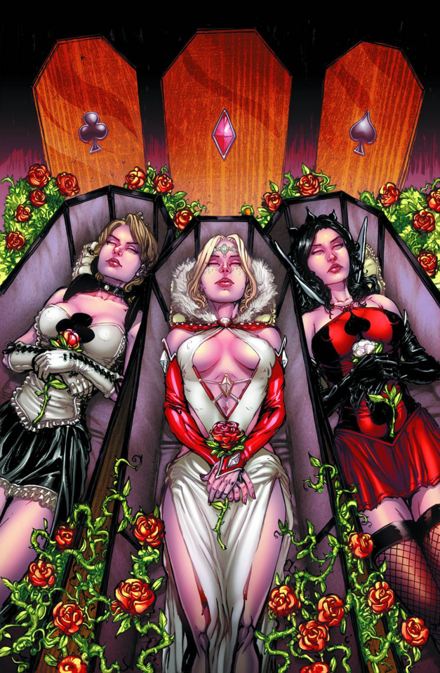 Grimm Fairy Tales: Wonderland #25 (Leister Cover)