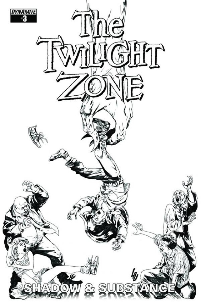 The Twilight Zone: Shadow & Substance #3 (20 Copy Lau B&W Cover)