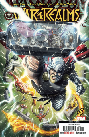The War of the Realms #5 (Dauterman 2nd Printing)