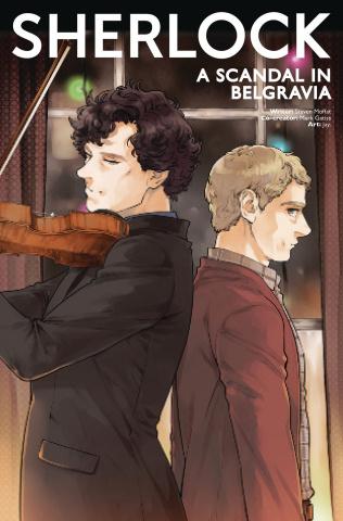 Sherlock: A Scandal in Belgravia #4 (Jay. Cover)