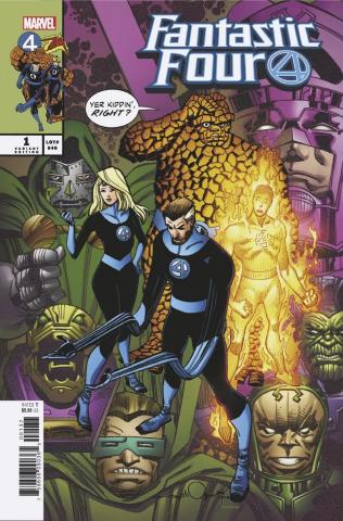 Fantastic Four #1 (Simonson Cover)
