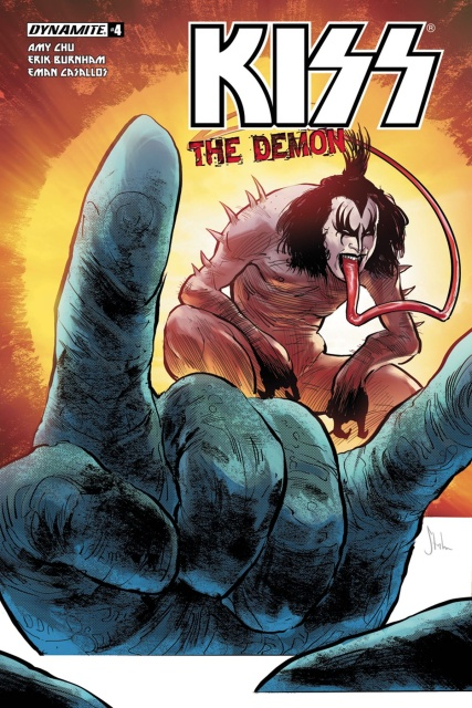 KISS: The Demon #4 (Strahm Cover)