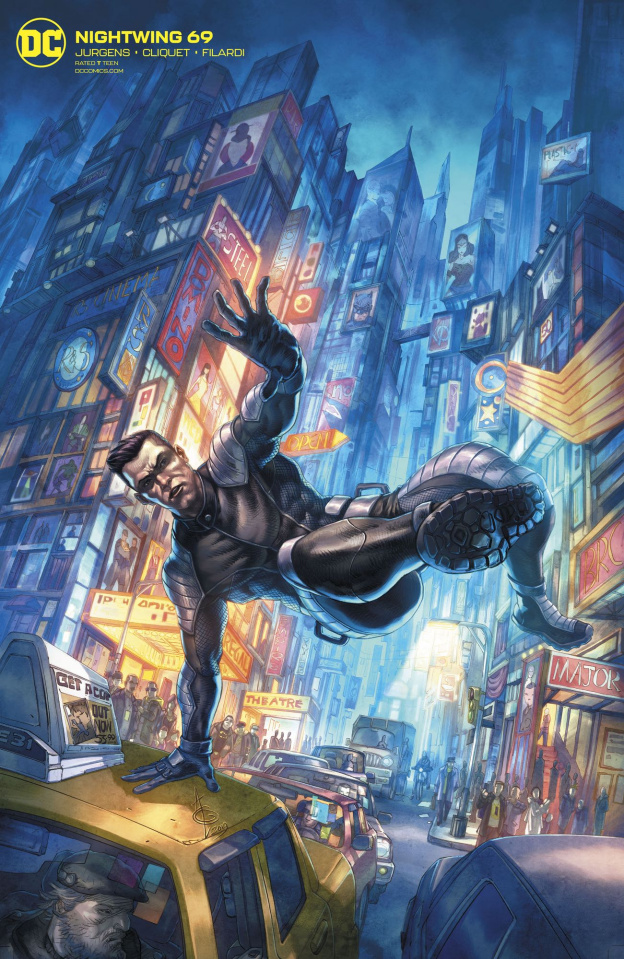 Nightwing #69 (Alan Quah Cover)