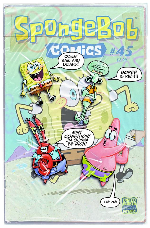 Spongebob Comics #45