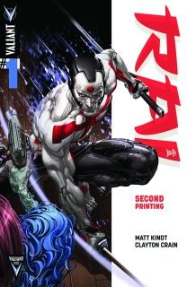 Rai #1 (2nd Printing)