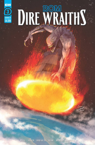 ROM: Dire Wraiths #3 (Howell Cover)