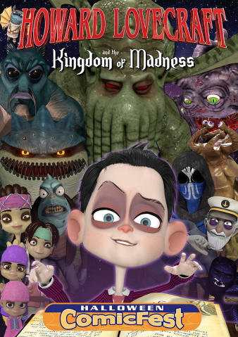 Howard Lovecraft and the Kingdom Of Madness (Halloween ComicFest 2018)