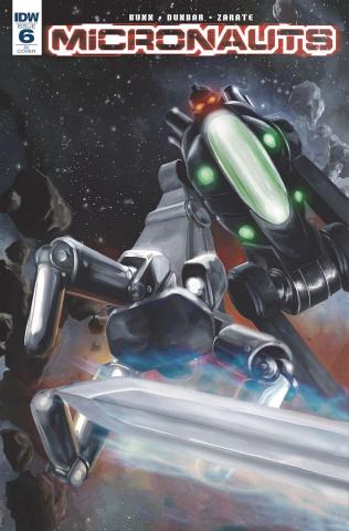 Micronauts #6 (10 Copy Cover)