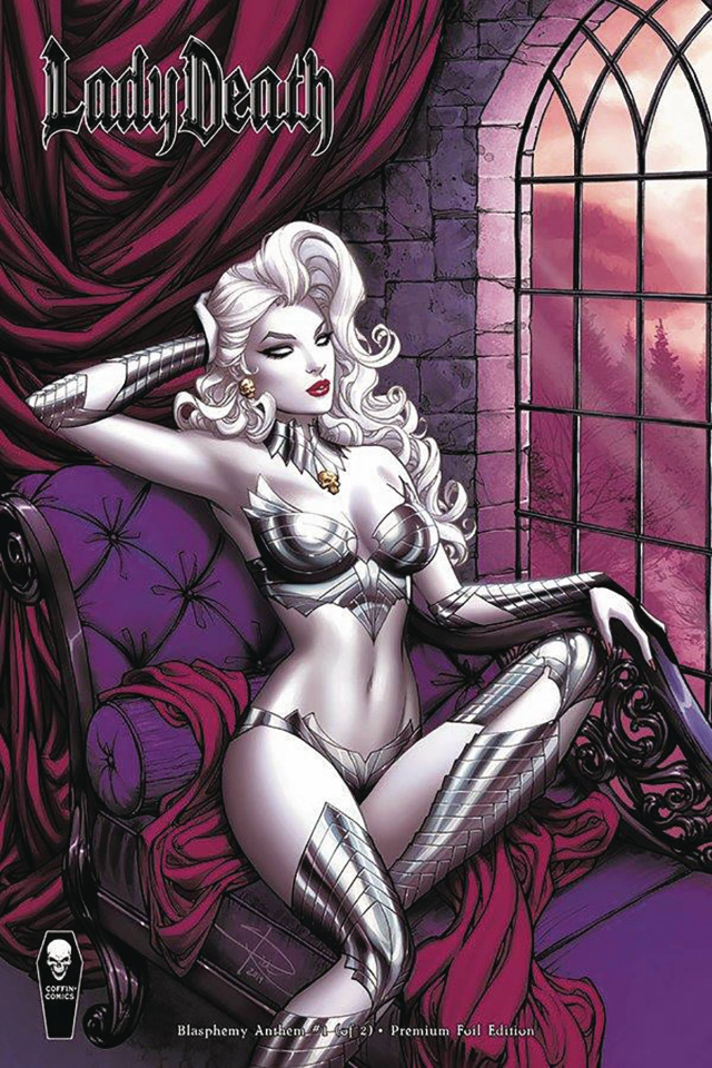 Lady Death: Blasphemy Anthem #1 (Premium Foil Rich Cover)