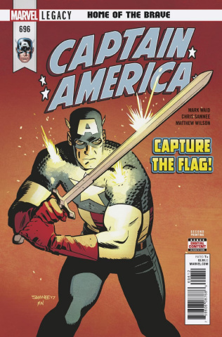 Captain America #696 (2nd Printing)