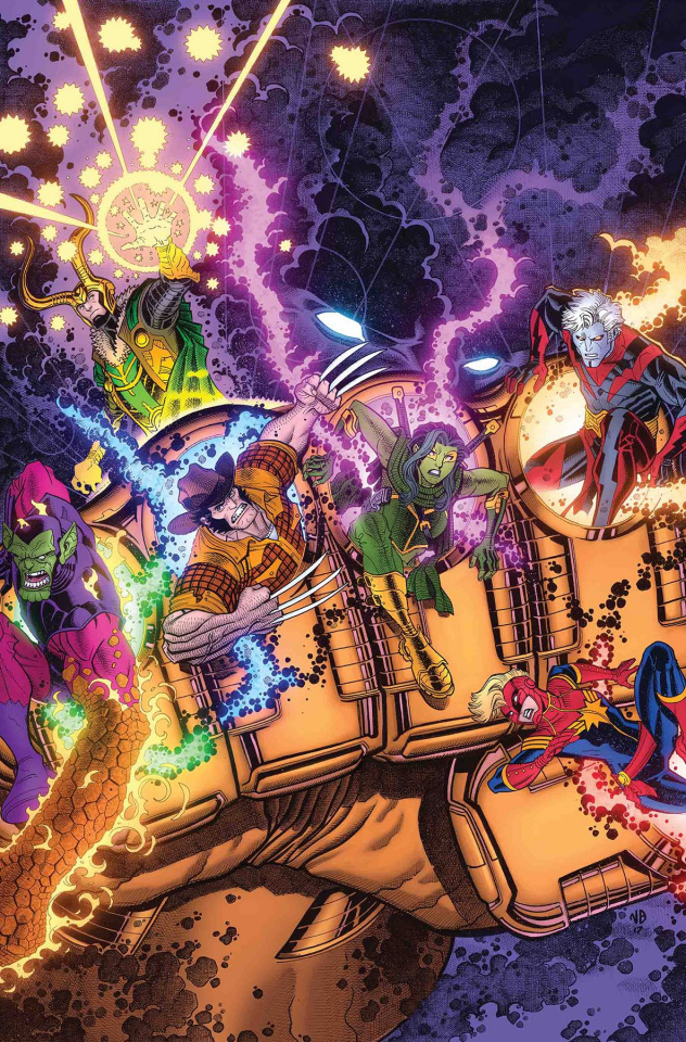 Infinity Countdown #1 (Derrington Cover)
