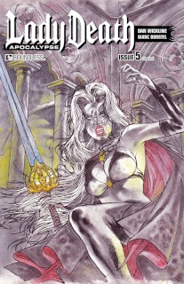 Lady Death: Apocalypse #5 (Classical Cover)