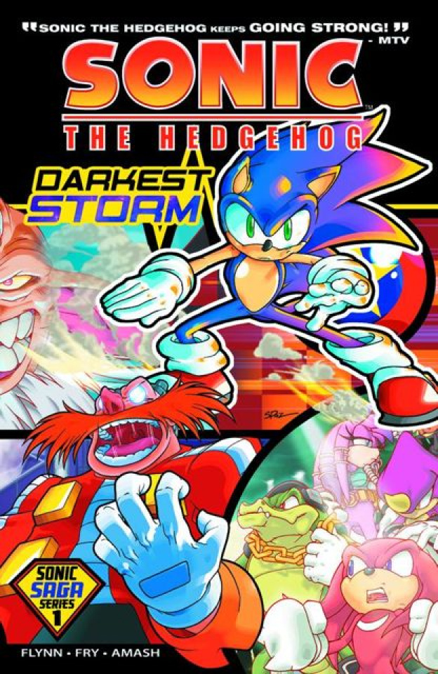Sonic Saga Vol. 1: Darkest Storm
