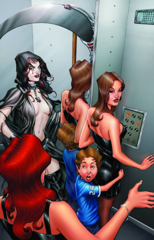 Grimm Fairy Tales: No Tomorrow #2 (Patterson Cover)