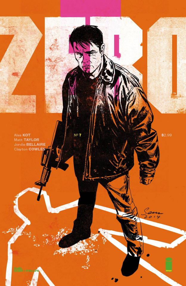 Zero #7 (Phillips & Muller Cover)