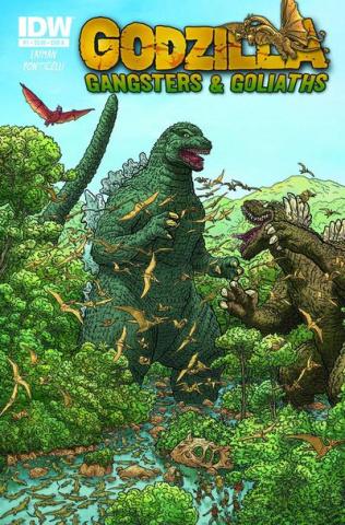 Godzilla: Gangsters & Goliaths #1